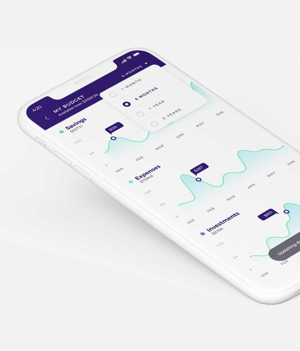 Statistics Mobile App